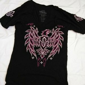 Affliction shirt size Large!